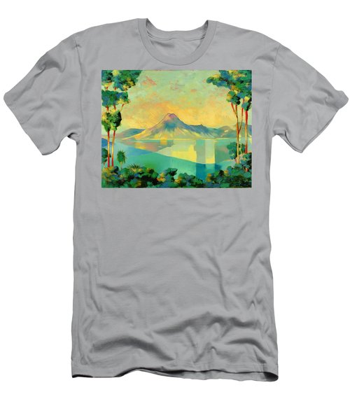 The Art Of Long Distance Breathing Men's T-Shirt (Athletic Fit)