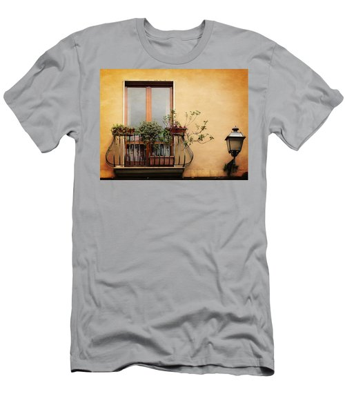The Balcony Men's T-Shirt (Athletic Fit)