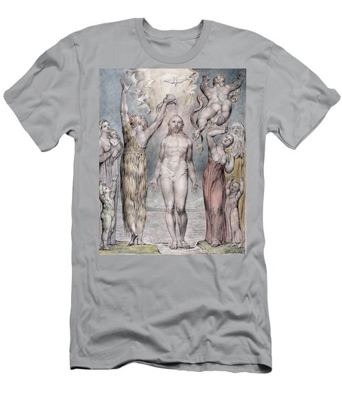 The Baptism Of Christ Men's T-Shirt (Athletic Fit)