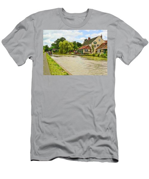 The Barge Inn Seend Men's T-Shirt (Athletic Fit)