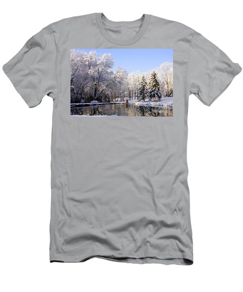The Beauty Of White Men's T-Shirt (Athletic Fit)