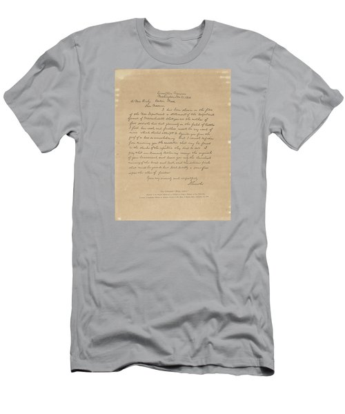 The Bixby Letter Men's T-Shirt (Slim Fit) by Celestial Images