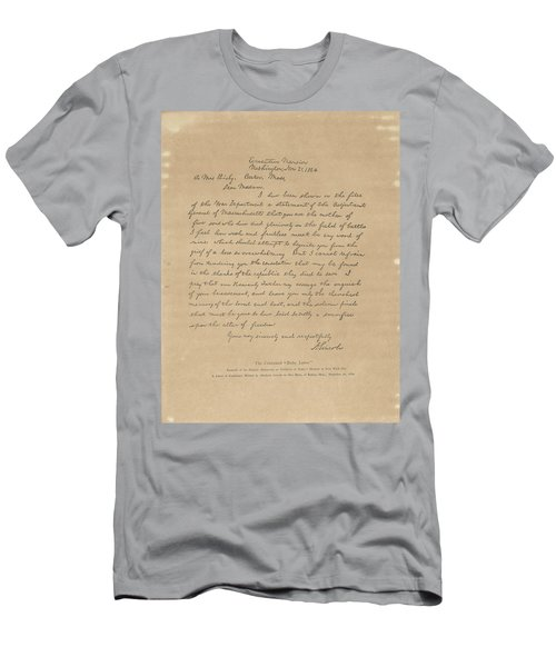 The Bixby Letter Men's T-Shirt (Athletic Fit)