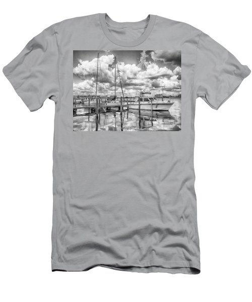 Men's T-Shirt (Athletic Fit) featuring the photograph The Boat by Howard Salmon