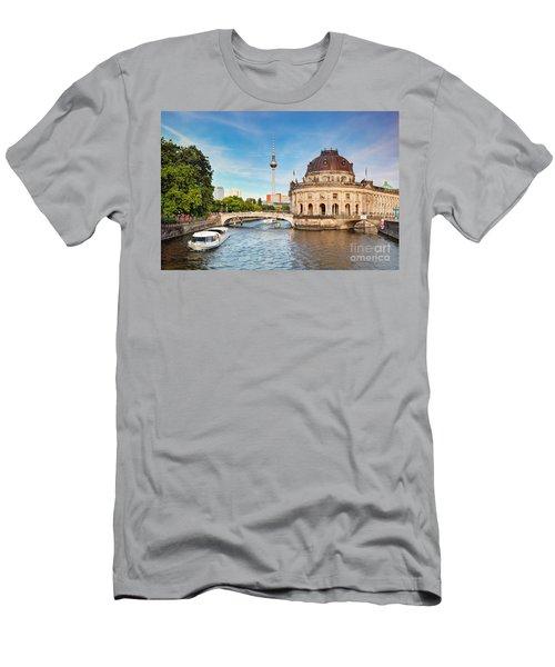 The Bode Museum Berlin Germany Men's T-Shirt (Slim Fit) by Michal Bednarek