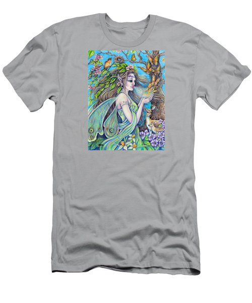 The Breath Of Spring Men's T-Shirt (Slim Fit) by Gail Butler