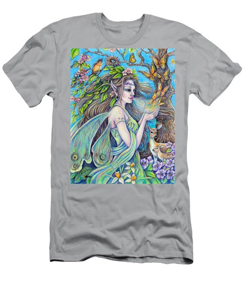The Breath Of Spring Men's T-Shirt (Athletic Fit)