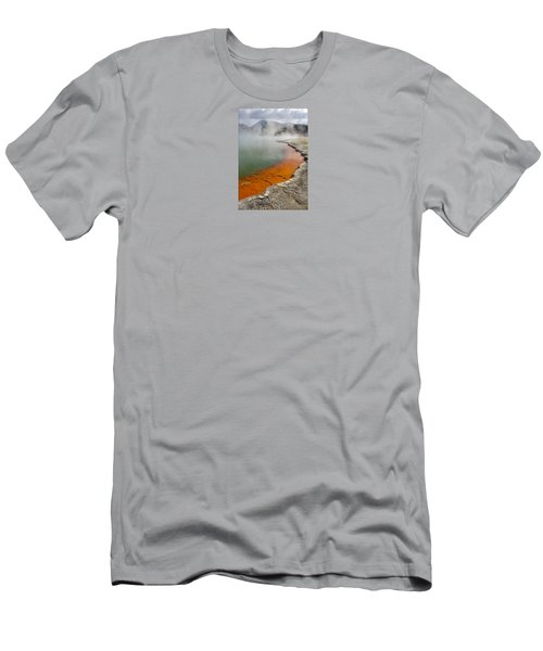 The Champagne Pool At Wai O Tapu Men's T-Shirt (Athletic Fit)