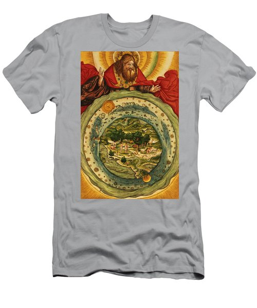 The Creation, From The Lutheran Bible Men's T-Shirt (Athletic Fit)