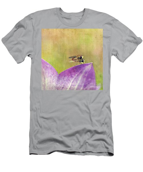 The Dance Of The Hoverfly Men's T-Shirt (Athletic Fit)