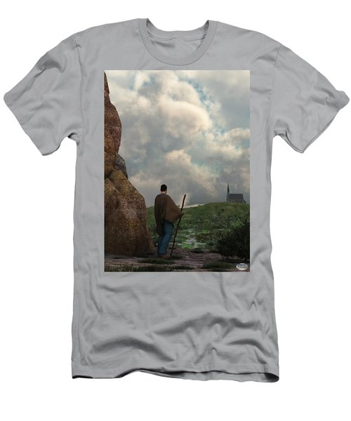 The Distant Chapel Men's T-Shirt (Athletic Fit)