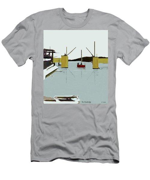 The Drawbridge   Number 4 Men's T-Shirt (Athletic Fit)