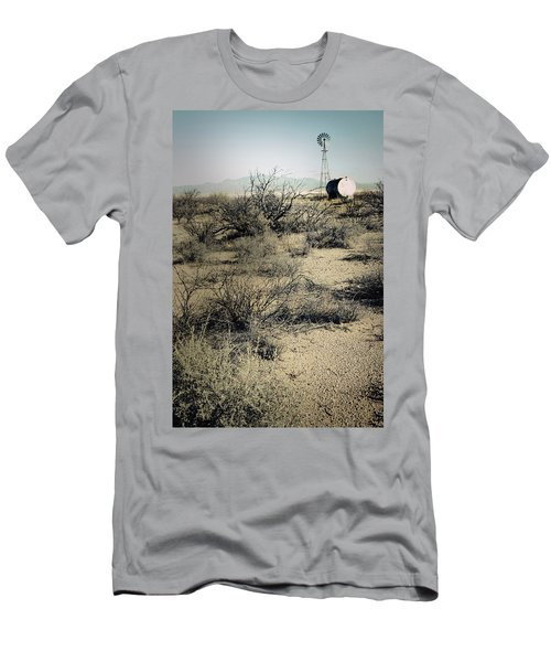 The Dry Lands Of Arizona Men's T-Shirt (Athletic Fit)