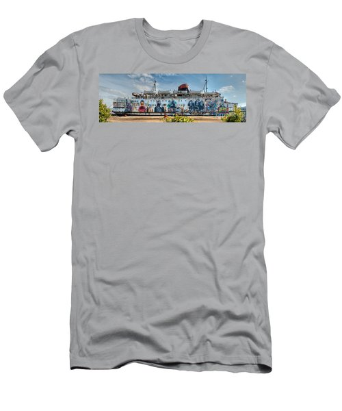 The Duke Of Graffiti Men's T-Shirt (Slim Fit) by Adrian Evans