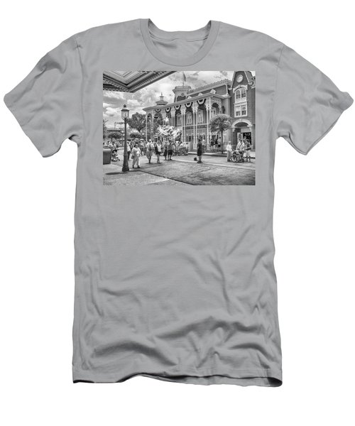 Men's T-Shirt (Slim Fit) featuring the photograph The Emporium by Howard Salmon