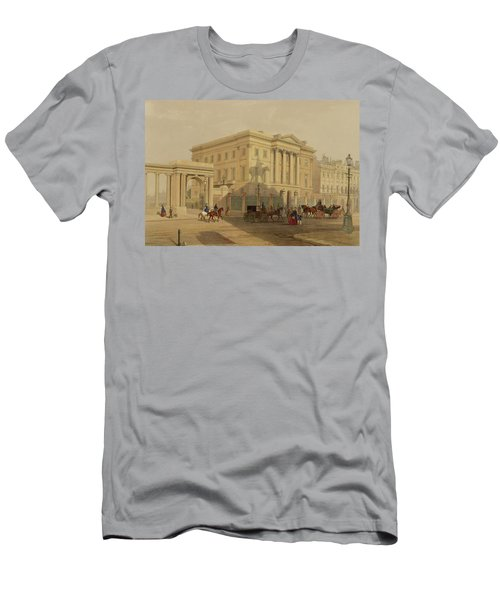 The Exterior Of Apsley House, 1853 Men's T-Shirt (Slim Fit) by English School