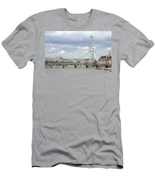 The Eye Of London Men's T-Shirt (Slim Fit) by Keith Armstrong