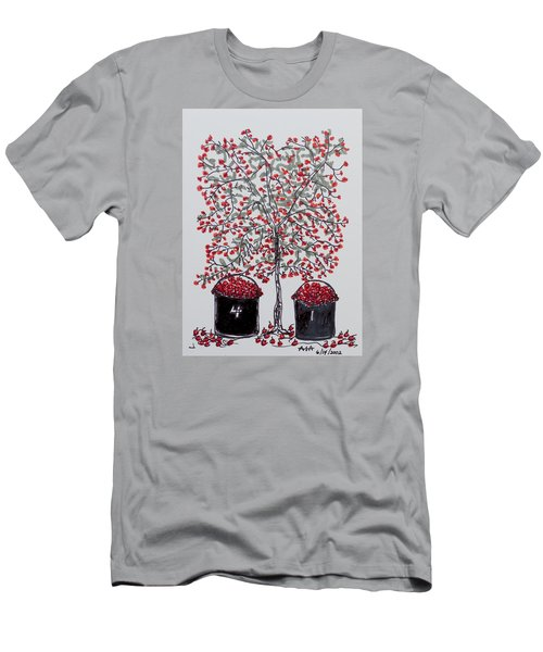 The Famous Door County Cherry Tree Men's T-Shirt (Athletic Fit)