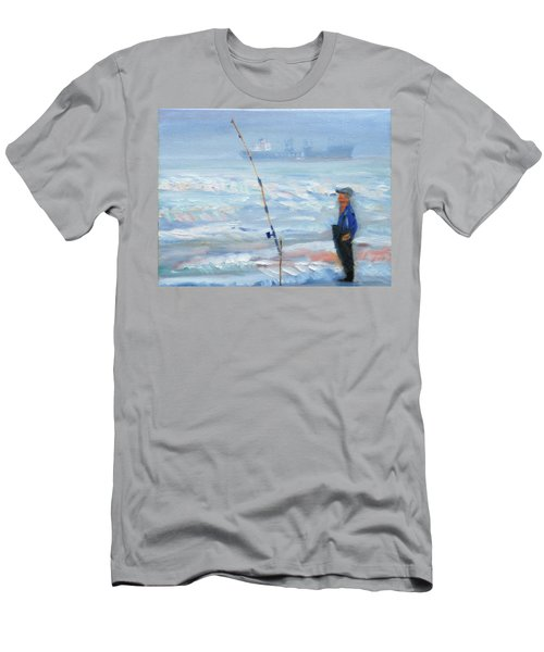 The Fishing Man Men's T-Shirt (Athletic Fit)