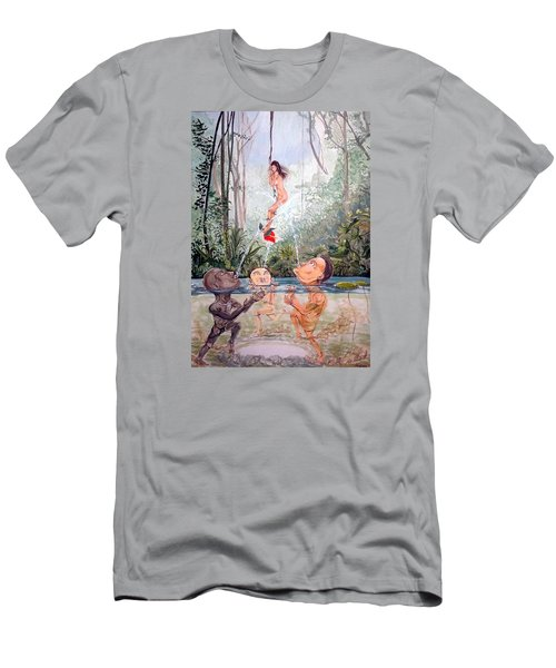 The Game Of The River Men's T-Shirt (Athletic Fit)