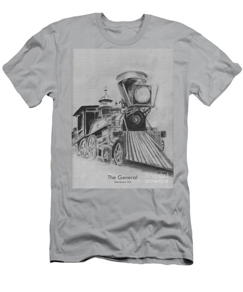The General - Train - Big Shanty Kennesaw Ga Men's T-Shirt (Athletic Fit)