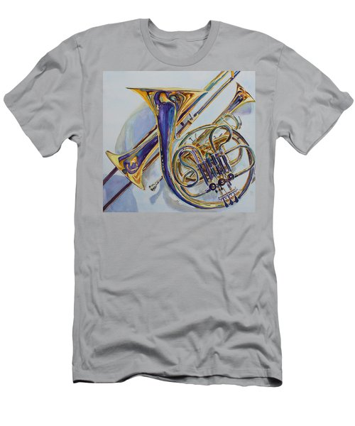 The Glow Of Brass Men's T-Shirt (Athletic Fit)