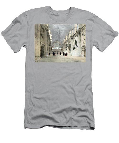 The Guildhall, Interior, From London As Men's T-Shirt (Athletic Fit)