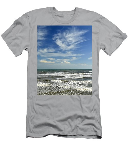The Gulf Of Mexico From Galveston Men's T-Shirt (Athletic Fit)
