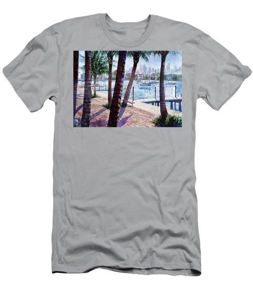 The Harbor Palms Men's T-Shirt (Athletic Fit)