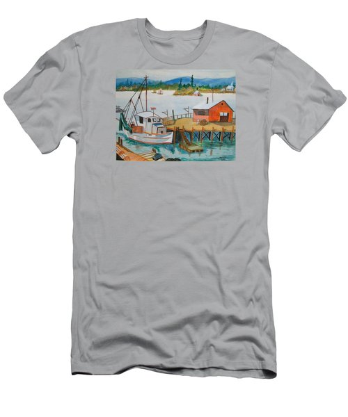 The Harbour Men's T-Shirt (Athletic Fit)