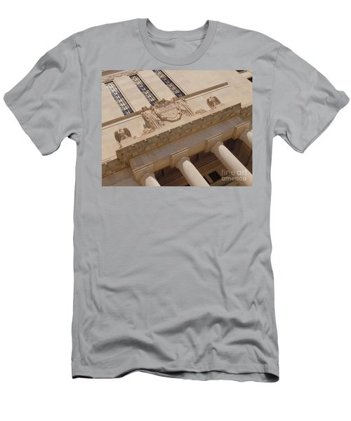 Men's T-Shirt (Slim Fit) featuring the photograph The Historical Federal Reserve Bank Of Dallas by Robert ONeil