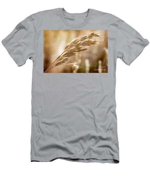 Men's T-Shirt (Slim Fit) featuring the photograph The Hot Gold Hush Of Noon by Linda Lees