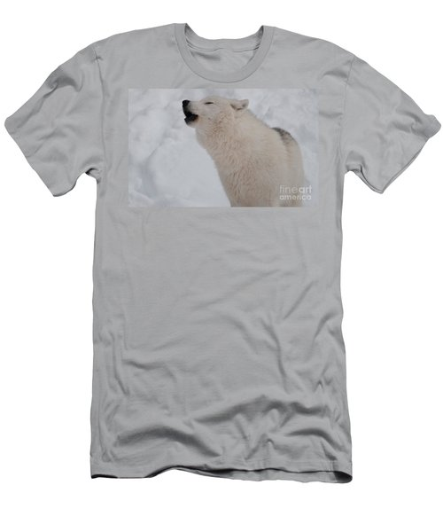 Men's T-Shirt (Slim Fit) featuring the photograph The Howler by Bianca Nadeau
