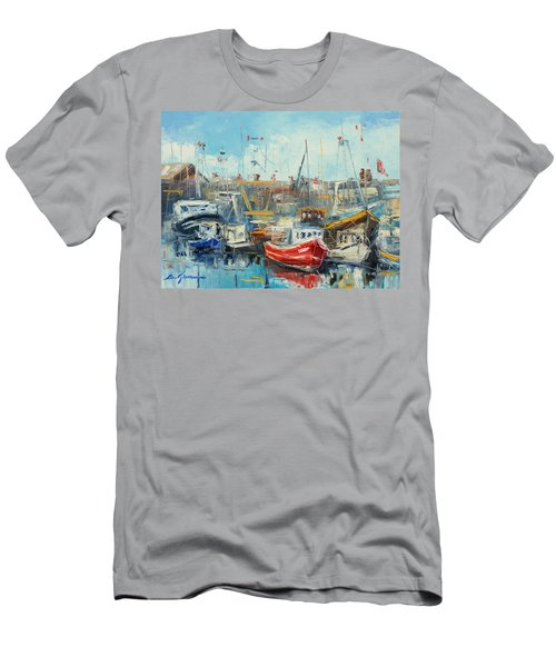 The Howth Harbour Men's T-Shirt (Athletic Fit)
