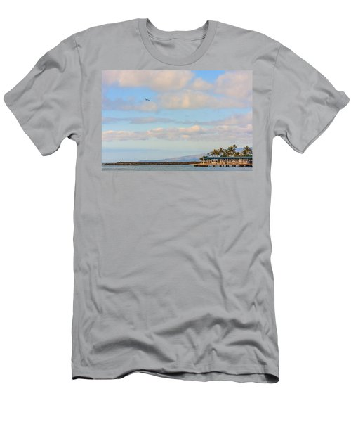 Men's T-Shirt (Athletic Fit) featuring the photograph The Island Of Oahu by Susan Leonard