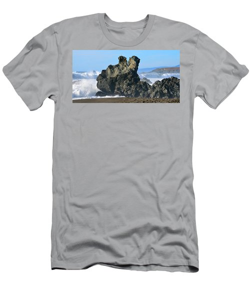The Kissing Rocks Men's T-Shirt (Athletic Fit)