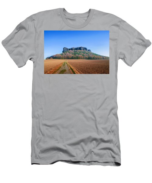 The Lilienstein On An Autumn Morning Men's T-Shirt (Athletic Fit)