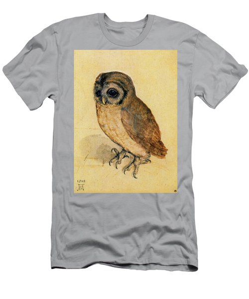 The Little Owl Men's T-Shirt (Athletic Fit)