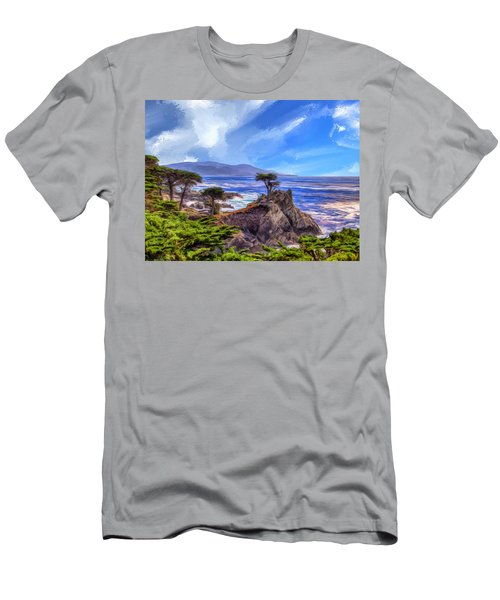 The Lone Cypress Men's T-Shirt (Athletic Fit)