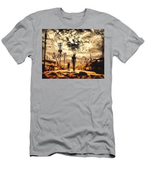 The Lone Wanderer Men's T-Shirt (Athletic Fit)
