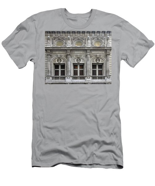 The Lyric Theatre In New York Men's T-Shirt (Athletic Fit)