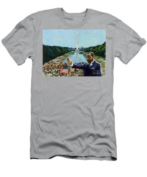The Memorial Speech Men's T-Shirt (Athletic Fit)
