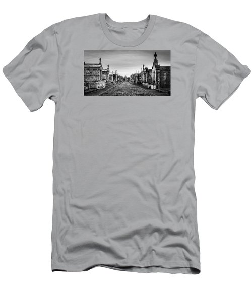 Men's T-Shirt (Slim Fit) featuring the photograph The Metairie Cemetery by Tim Stanley