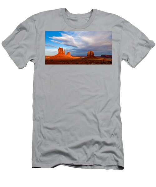 The Mittens Magical Light Men's T-Shirt (Athletic Fit)