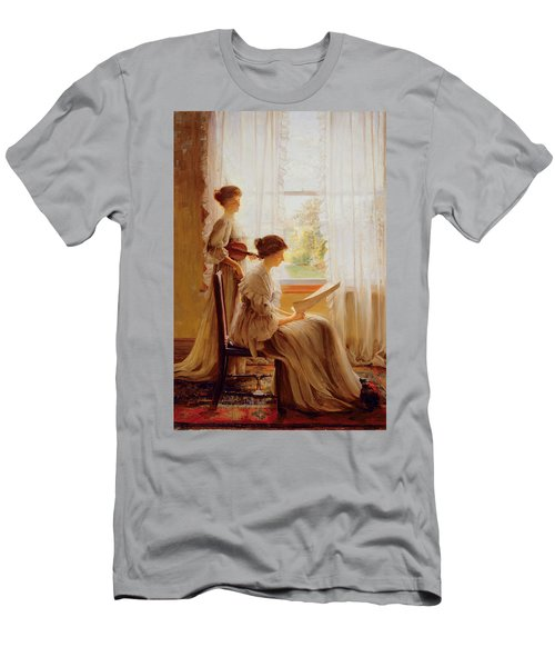 The Music Lesson, C.1890 Men's T-Shirt (Athletic Fit)