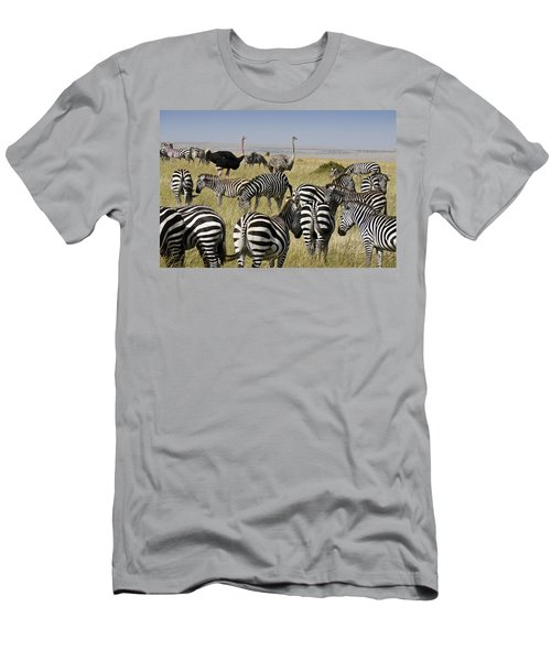 The Odd Couple Men's T-Shirt (Slim Fit) by Michele Burgess
