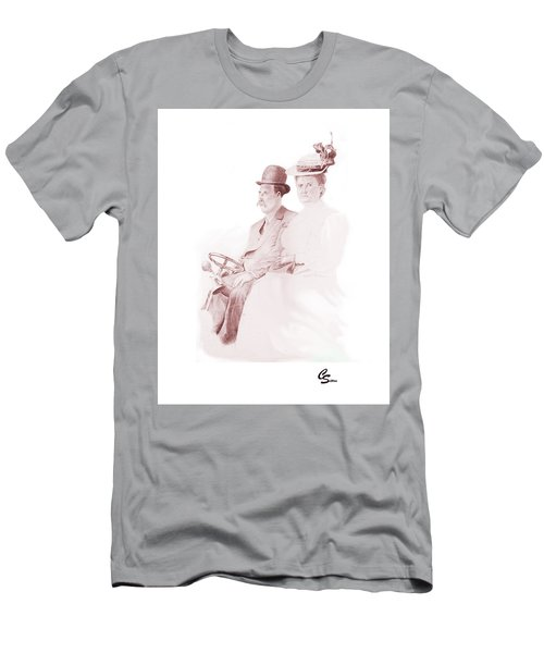 The Old Gray Mare Men's T-Shirt (Slim Fit) by C Sitton