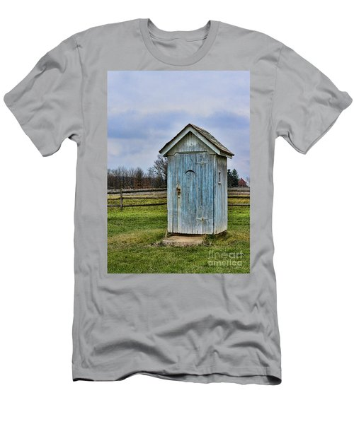 The Outhouse - 4 Men's T-Shirt (Athletic Fit)