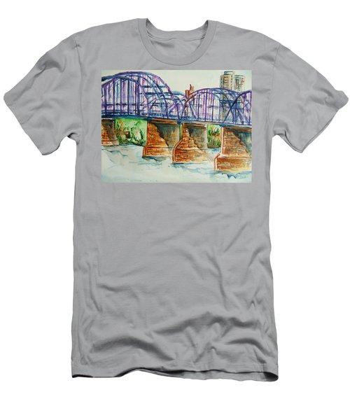 The Purple People Bridge Men's T-Shirt (Athletic Fit)