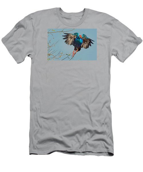 The Purple Swamphen Men's T-Shirt (Athletic Fit)